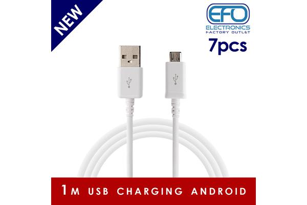7Pc 1M Usb Charging Cable Micro Usb Connector For Samsung Htc Sony Windows 7X
