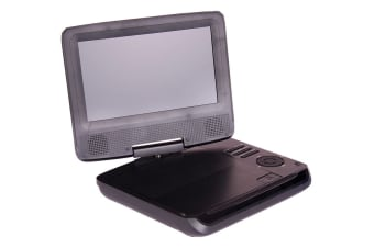 "Laser Portable DVD Player 7"" With Bonus Pack"