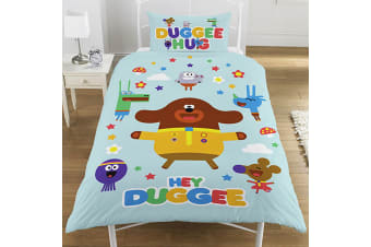 Hey Duggee Hello Squirrels Single Duvet Set (Multi-colour) (135 x 0.5 x 200 cm)