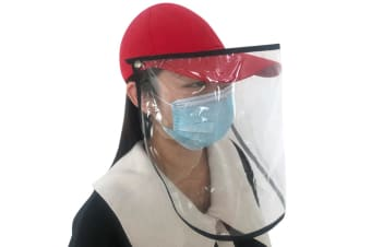Anti-saliva Transparent Protective Cap Anti-fog Hat Isolation Removable Mask Cover Face
