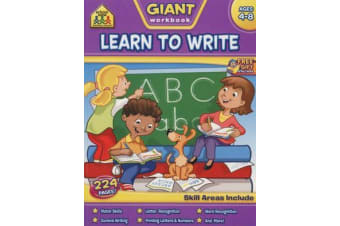 Learn to Write Giant Workbook