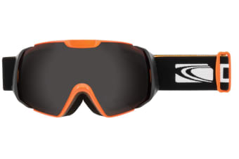 Carve Platinum Orange Matt Black Grey Lens Goggles