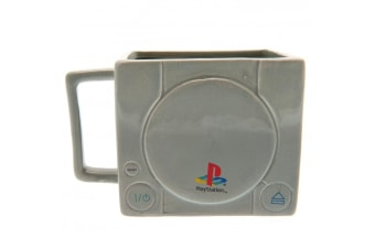 Playstation 1 3D Mug (Grey) (One Size)