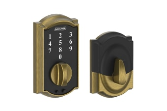 Schlage Touch Keyless Touchscreen Deadbolt with Camelot Trim