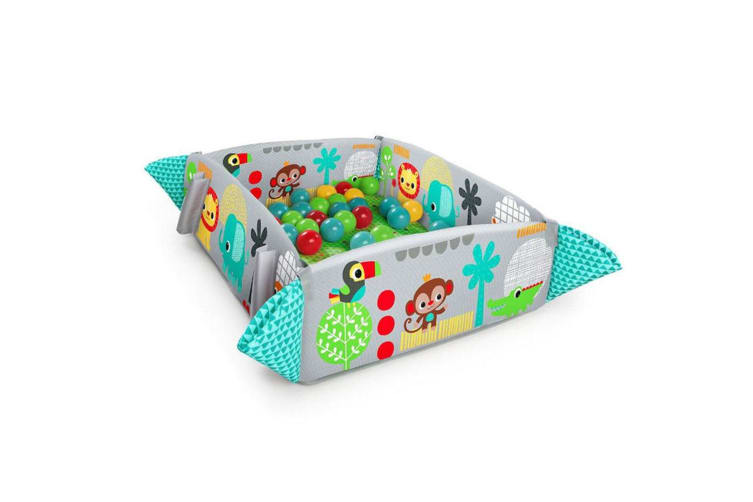 Bright Starts 5-in-1 Baby/Infant/Toddler Ball Pit Play Activity Gym Fabric Toys