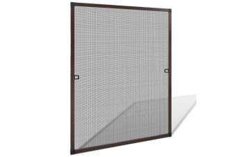 vidaXL Insect Screen for Windows 80 x 100 cm Brown