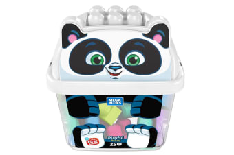 Mega Bloks Animal Buckets - Playful Panda