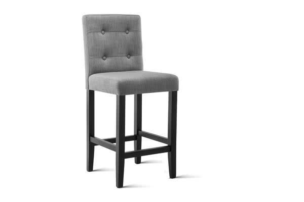 Artiss Set of 2 French Provincial Dining Chairs (Grey)
