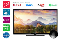 "Kogan 49"" 4K LED TV (Series 8 KU8000) including Google Chromecast"