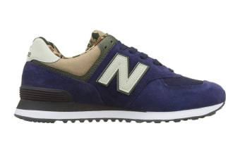 New Balance Men's 574 Shoe (Pigment, Size 12)