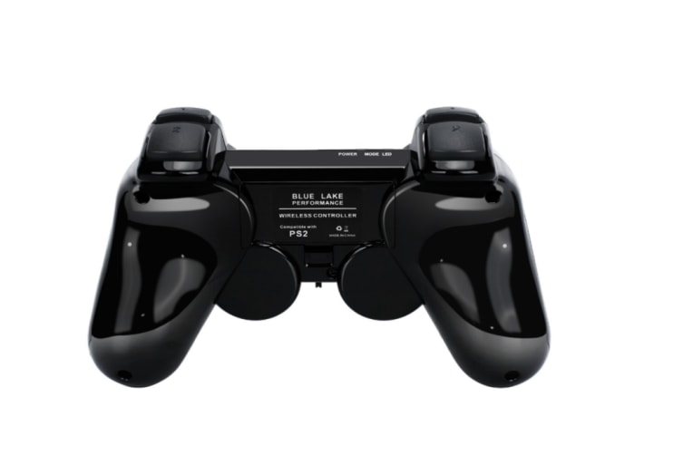 2 Pack Wireless Controller 2.4G Compatible with Sony PlayStation 2 PS2