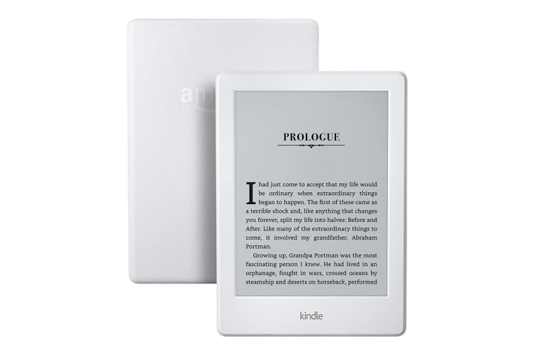 "Amazon Kindle 6"" Wi-Fi eReader (4GB, White)"