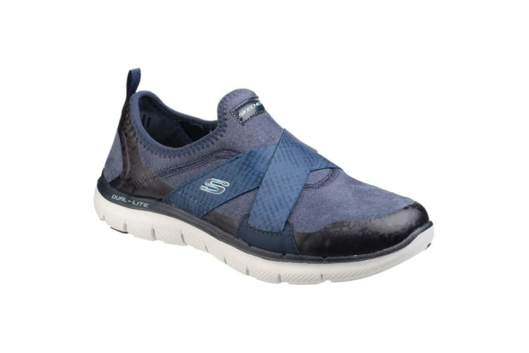 Skechers Womens/Ladies SK12619 Flex Appeal 2.0 Bright Eyed Sports Shoes/Trainers (Navy) (5 UK)