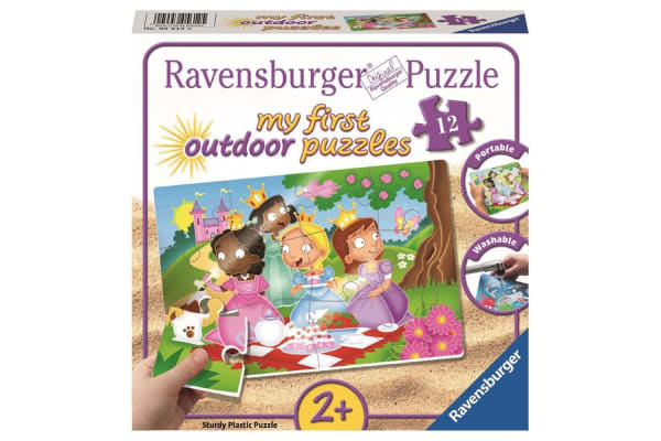 Ravensburger My First Princess Friends Outdoor Puzzle - 12 Piece