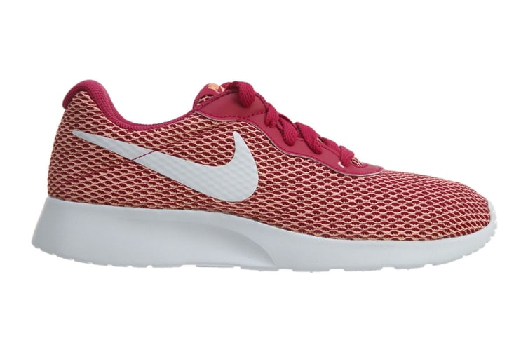 Nike Women's Tanjun SE Shoes (Sport Fuchsia/White, Size 6 US)