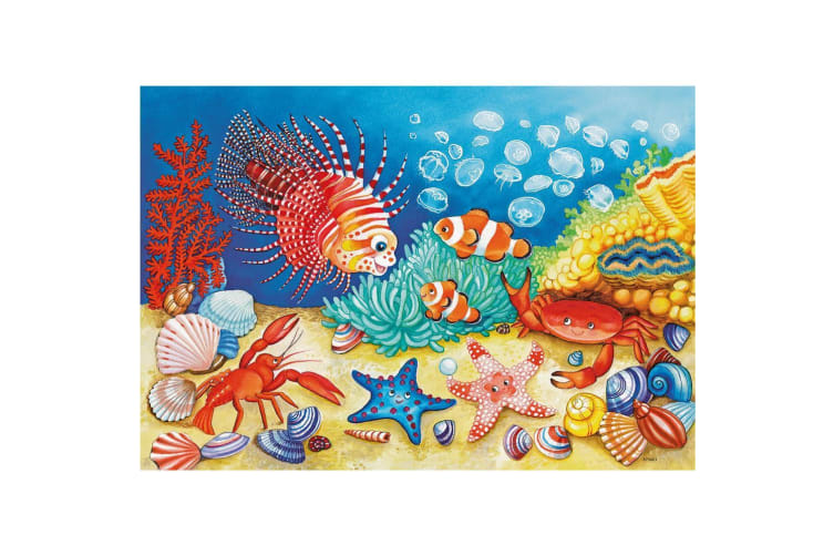 Ravensburger On the Seabed Puzzle - 2 x 12 Piece