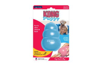 KONG Large Puppy Toy with Soft Durable Rubber for Dogs Under 12 Months
