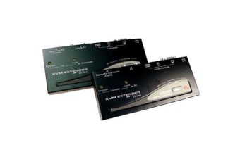 Rextron EUC222  Console Extender Allows VGA mouse & keyboard signals to be  ext. up to 150 metres