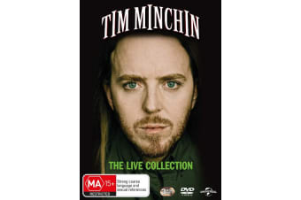 Tim Minchin The Live Collection DVD Region 4