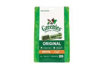 Greenies Dental Chews Treat Pack Petite - 510g