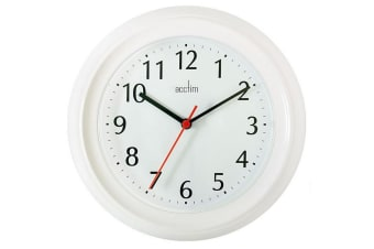 Acctim Wycombe Wall Clock (White) (One Size)
