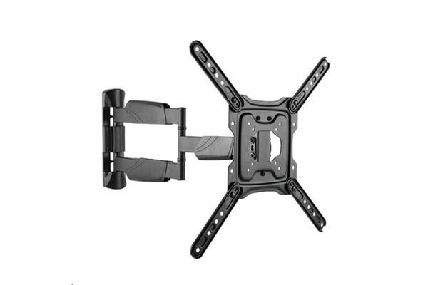 "BRATECK 23-55"" Full Motion TV Wall  Mount. Profile 49-615mm. Max VESA 400x400mm."