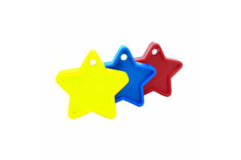 Sear Plastic Star Balloon Weight - Primary (Red/Blue/Yellow)
