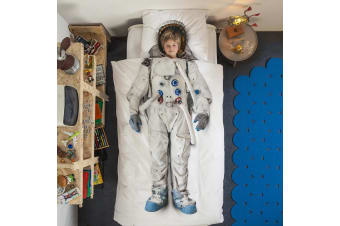 Snurk Astronaut Space Doona Quilt Duvet Bedding Cover Set