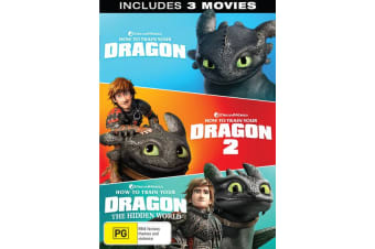 How to Train Your Dragon 1-3 Box Set DVD Region 4
