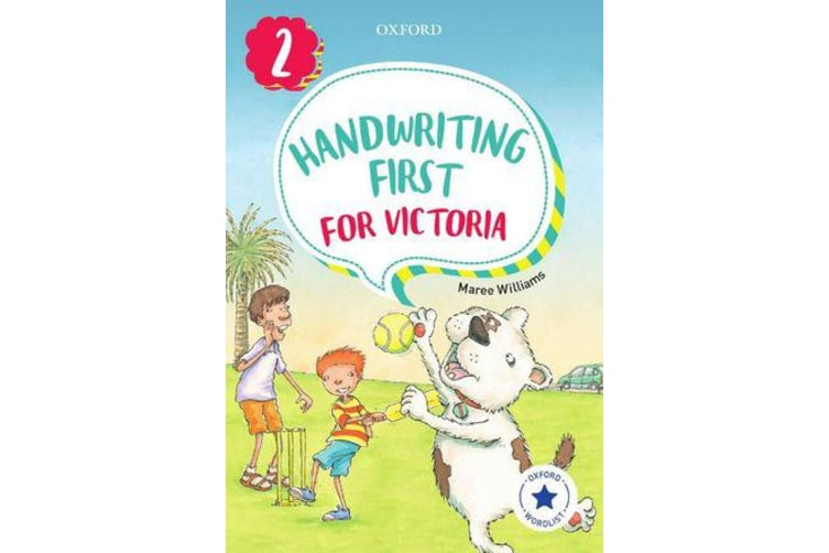 Handwriting First for Victoria Year 2