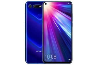 New Huawei Honor View 20 Dual SIM 128GB 6GB RAM 4G LTE Smartphone Saphire Blue (FREE DELIVERY + 1 YEAR AU WARRANTY)