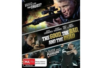 The Good, The Bad And The Dead (Brand New Bluray 2017) Dolph Lundren