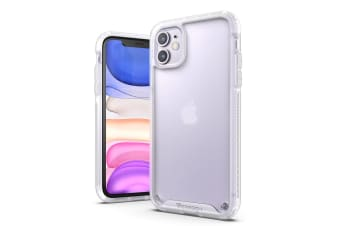 VERTECH Ultra Hybrid Shockproof Slim Hard Cover for iPhone 11 Pro Max-Frost White