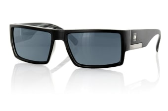 Carve Shady Deal Matt Black Polarized Unisex Sunglasses