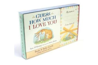 Guess How Much I Love You - Book & Baby Cards Milestone Moments Gift Set