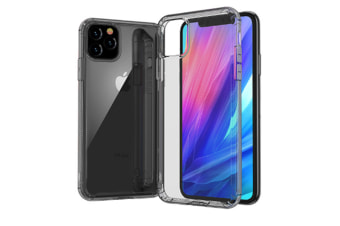 Select Mall Creative Dust-proof Drop Protection Cover Transparent Mobile Phone Case Compatible with Series IPhone 11-Black Iphone11 Pro Max 6.5 inch