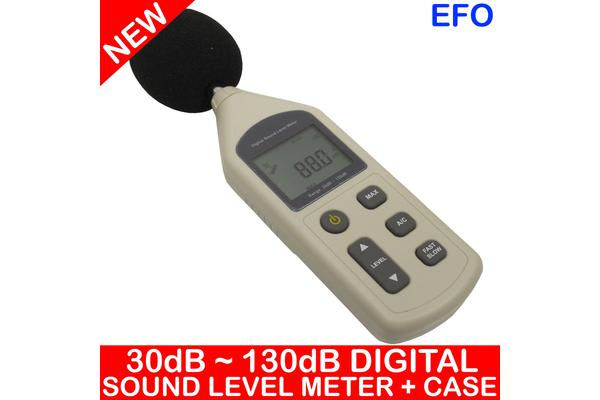 Digital Sound Level Meter 30Dba ~ 130Dba ?1.5Db Decibels A/C Weighting Hold Case