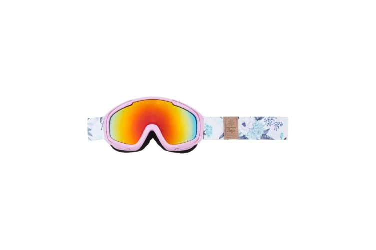 Rojo Girl's Snow Winter Floral Girls Goggles