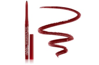 Nyx Waterproof Retractable Lip Liner Dark Red Pencil Lipliner #Mpl12
