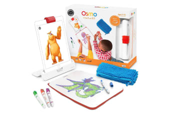Osmo Kids Creative Kit Art Educational Toy/Game w/ Mirror & Base for Apple iPad