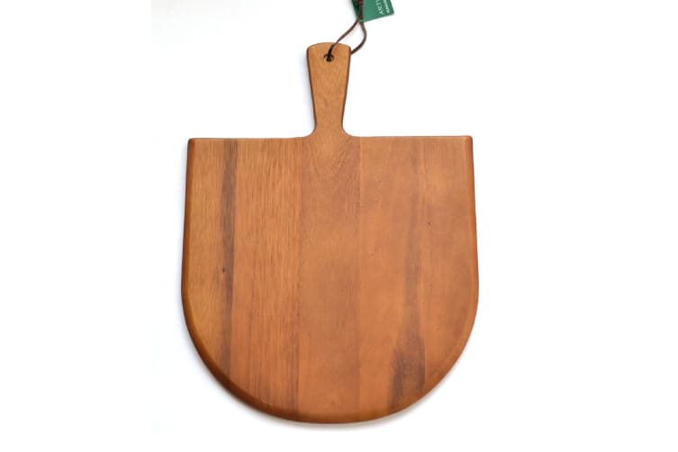 Wooden Pizza Paddle Acacia Serving Board Large