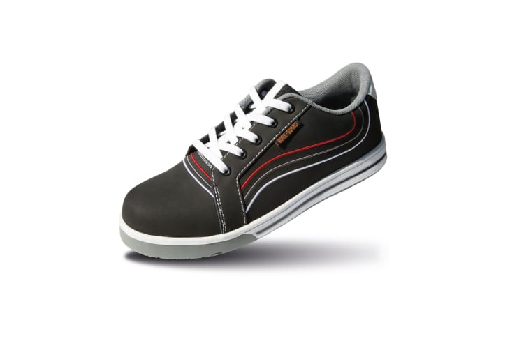 Result Workguard Mens Spark Lace-Up Safety Trainers (Black/White) (6 UK)