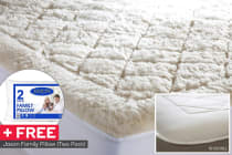 Jason 550GSM Australian Wool Reversible Underlay with FREE Pillow Pack