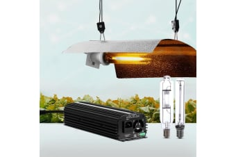 600W HPS MH Hydroponic Grow Light Kit Digital Ballast Reflector