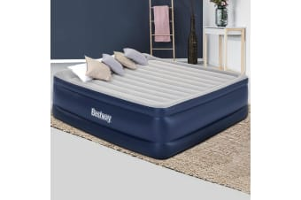 Bestway King Air Bed Beds Inflatable Mattress Built-in Pump