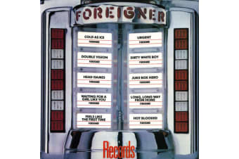 Foreigner ‎– Records PRE-OWNED CD: DISC EXCELLENT