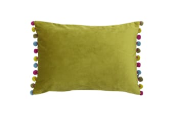 Paoletti Fiesta Rectangle Cushion Cover (Bamboo/Multi)