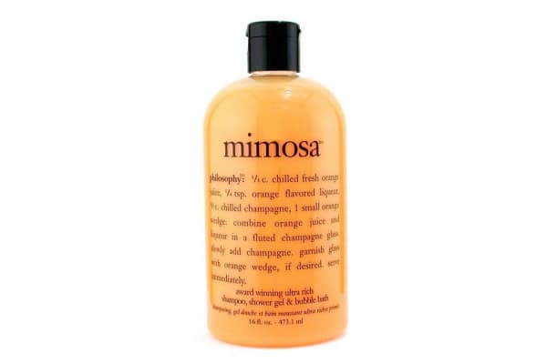 Philosophy Mimosa - Ultra Rich Shampoo, Bath & Shower Gel (473.1ml/16oz)