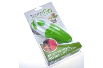 Touch And Go Electric Can Opener Green
