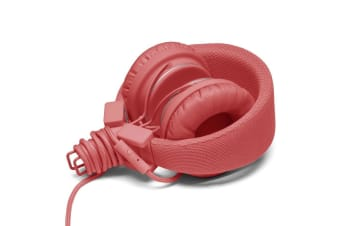 Urbanears Plattan Coral On Ear Headphones Headset Mic for IOS Apple/Android